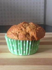 Wheat orange muffin